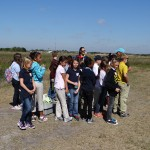 Students at Celery Fields