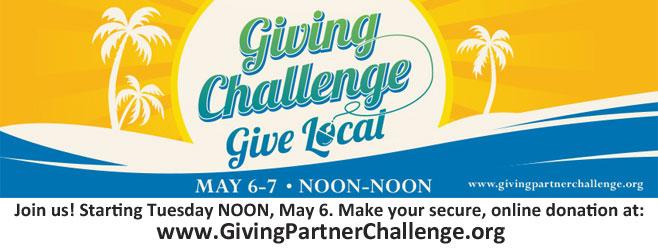 Giving Challenge – May 7