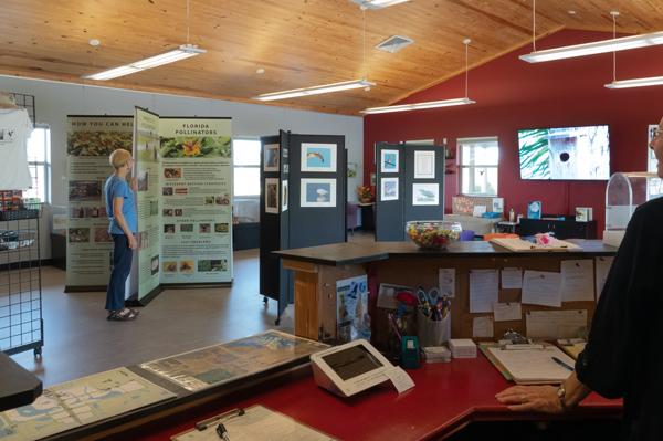 Interior of the Florida Audubon Society image